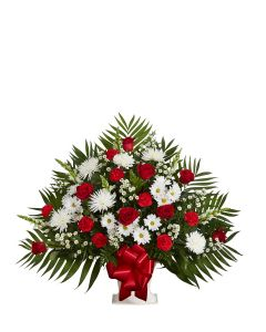 Tribute Basket In Red