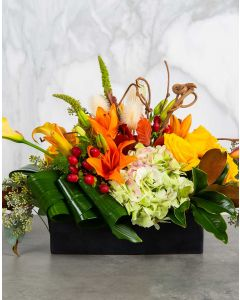 Harvest Hues Centerpiece