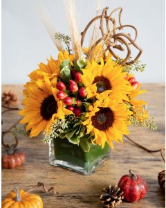 Sunflowers & Berries