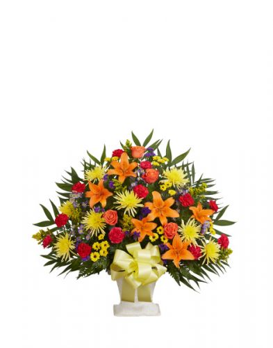 Tribute Basket In Bright
